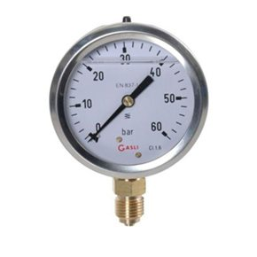 Manometer 60Bar (onder)